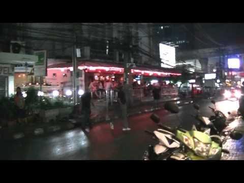 バンコク・ナナ周辺のバーを撮影 Bangkok Nana Plaza, Outside Bars