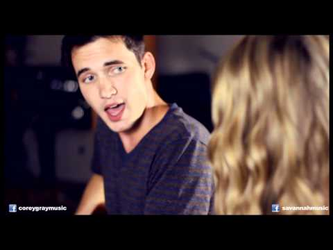 Jason Mraz and Colbie Caillat - Lucky (Savannah Outen and Corey Gray)