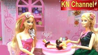 KN Channel Đồ chơi trẻ em BÚP BÊ MẶT MÈO KHI ĂN CHOCOLATE ĐỒ CHƠI THÁI LAN CỦA BÉ NA