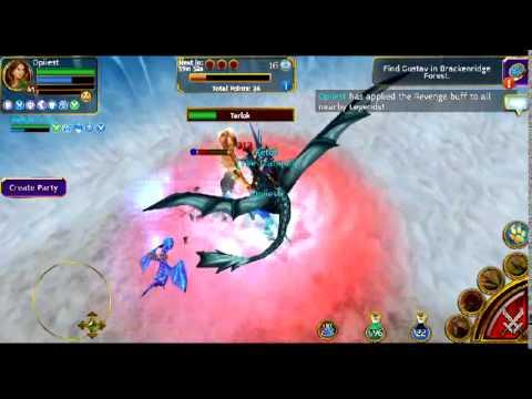 Arcane Legends Winter Event 2014 - Killing Tarlok Boss