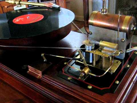 Steampunk record player