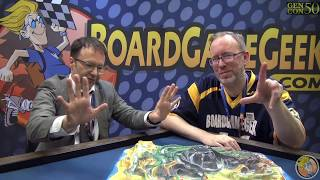 Fireball Island: The Curse of Vul-Kar — game preview at Gen Con 50