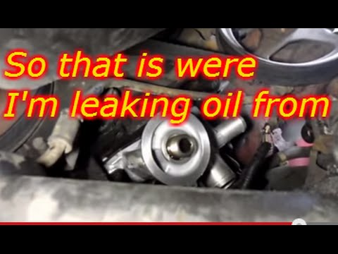 How To Replace The Oil Filter Adapter On a 2007 Ford F150  5.4 Liter