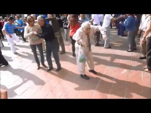 Old Man Dancing to #shutyourtrap