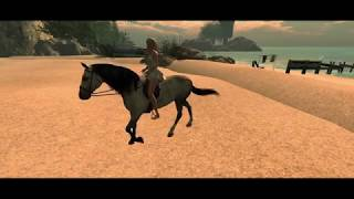 Second Life Bento Horse Film Trailer