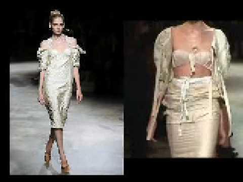 Fashion week with Daria Shapovalova 15.02.09 Trend Optimistic. Trend Nude