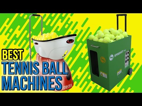 8 Best Tennis Ball Machines 2017