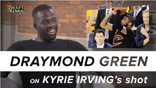 One on One with Draymond Green - Seeing Kyrie Irving after