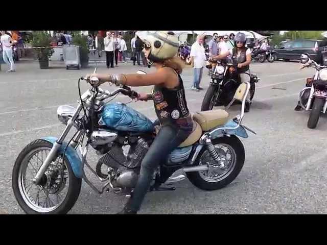 Moto Raduno Bikers Roma a TMR Village H24 di Guidonia
