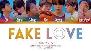 download musica BTS 방탄소년단 - FAKE LOVE Color Coded HanRomEng
