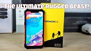 "Ulefone Armor 6 - ""Everything You Need In A Rugged Smartphone!"" - Helio P60 - 6GB/128GB - 21MP/13MP"