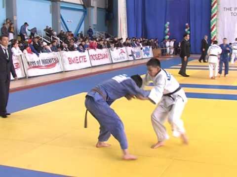 В Темиртау завершился международный турнир по дзюдо Огни Магнитки