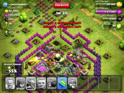 Clash of Clans [Offense] Lvl 70 Town Hall 8