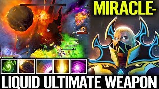 """HOW Miracle USE """"Refresher Orb"""" INVOKER Dota 2 Liquid Weapon"""