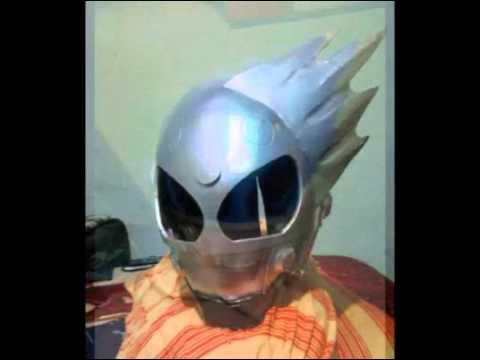 Tutorial Helmet Kamen Rider Kamen Rider Meteor Tutorial