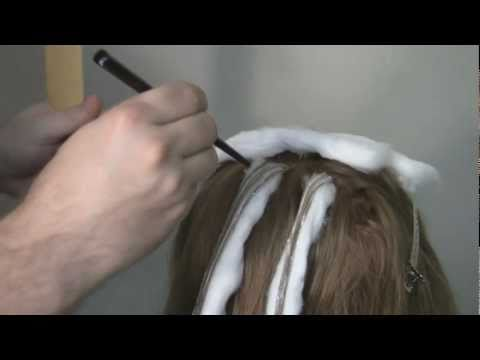 Balayage Hair Color Technique Demo for Highlights