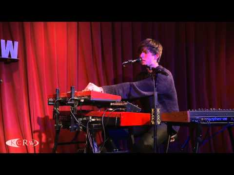 "James Blake performing ""Overgrown"" Live on KCRW"