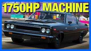 Forza Horizon 4 : 1750 Horsepower Drag MACHINE!! (AMC Rebel Customization)