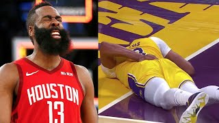 "NBA ""Scary Fall"" MOMENTS"