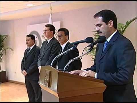 21-10-2009 Guillermo Padrés presidió el homenaje póstumo de Ramón Ontamucha y José Pérez