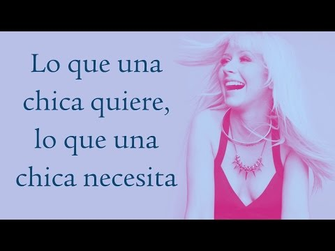 Christina Aguilera - Una Mujer (What A Girl Wants)