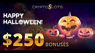 CryptoSlots Offers Halloween Version of Popular Slot and $250 Bonuses