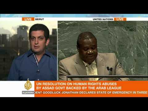 Analysing the UN resolution on Syria