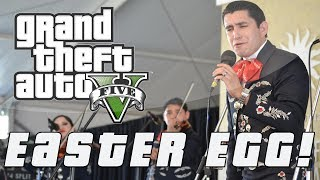 Grand Theft Auto 5 | Secret Mexican Mariachi Easter Egg! (GTA V)