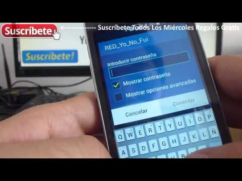 Como configurar una red WiFi Android Samsung Galaxy Ace 4 Duos SM-G313ML/DS Español