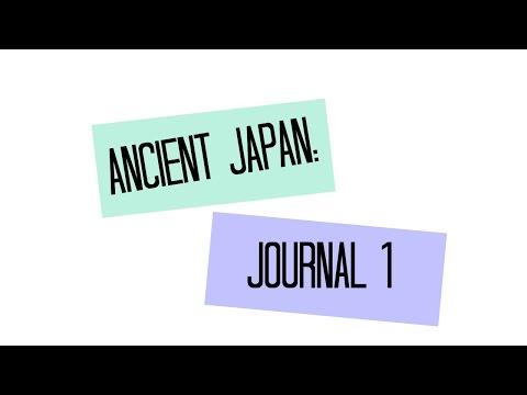 Ancient Japan: Ninja Journal 1 | MeganOVProductions