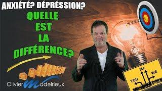 Anxiété ou dépression? Quelle est la différence?