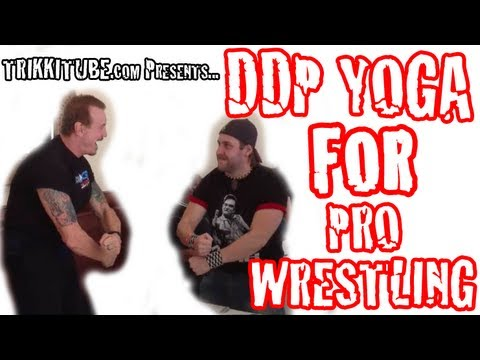 DDP Yoga for Pro Wrestling Training Image 1