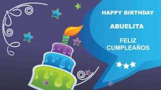 Abuelita - Card Tarjeta - Happy Birthday