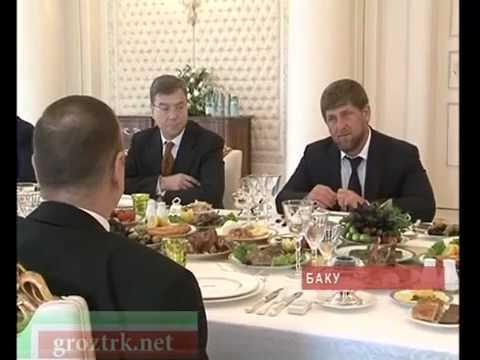 Кадыров приехал в Баку