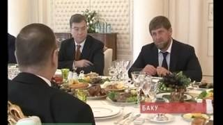 Кадыров приехал в Баку КАВКАЗ 2013
