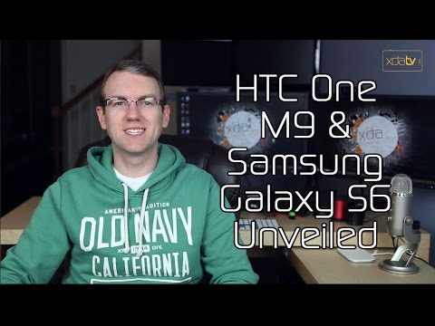 HTC One M9 & Samsung Galaxy S6 Unveiled, Ikea Qi Charging Lamps, Google Creating Biodomes?