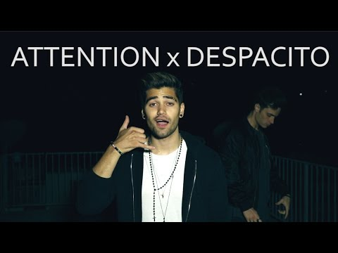ATTENTION x DESPACITO MASHUP (ENGLISH SPANISH COVER) CHARLIE PUTH, JUSTIN BIEBER, LUIS FONSI