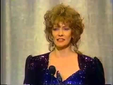 Betty Buckley wins 1983 Tony Award for Best Featured Actress in a Musical