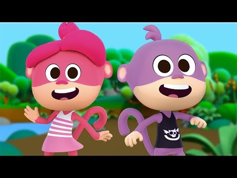 Los Monos y las Monas - Canciones Infantiles del Zoo 2