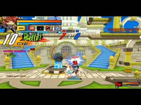 Elsword Sheath Knight Combo PvP
