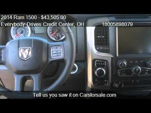 2014 Ram 1500 Big Horn 4X4 - for sale in Upper Sandusky, OH