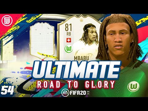 ICON IN A PACK!!!!! ULTIMATE RTG #54 - FIFA 20 Ultimate Team Road to Glory