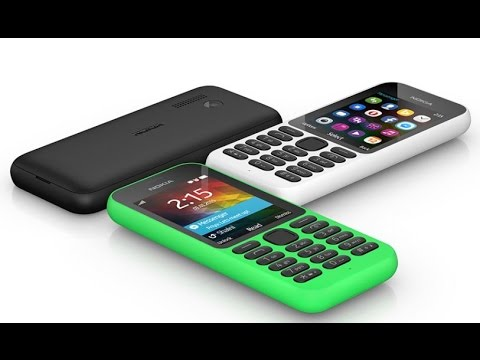 Microsoft's Nokia 215 First Look