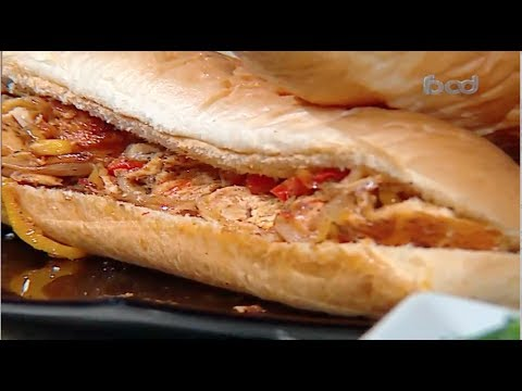 ساندوتش دجاج مكسيكانو الشيف #غفران_كيالي من برنامج #هيك_نطبخ #فوود