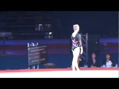 Ashleigh Brennan of AUS, 3rd in Massilia 2011 FX EF