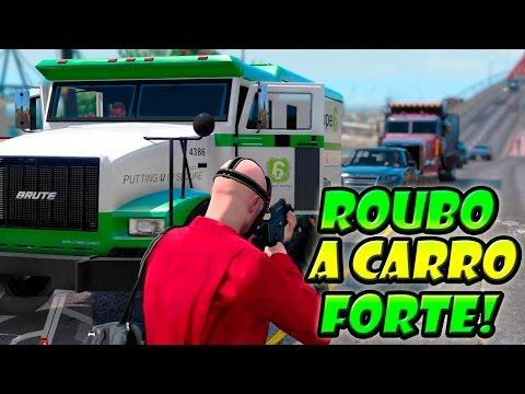 GTA V: Vida do Crime #7 - Carro-Forte