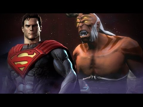 Injustice: Superman vs. Superman - Martian Manhunter, Two-Face and Trigon