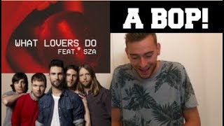 Download Lagu Maroon 5  ft. SZA - What Lovers Do (SONG REACTION) Gratis STAFABAND