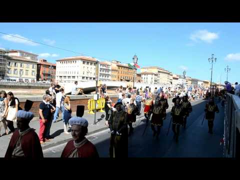 Corteo della Repubblica di Venezia - Regata storica delle repubbliche marinare (Pisa, Giugno 2013)