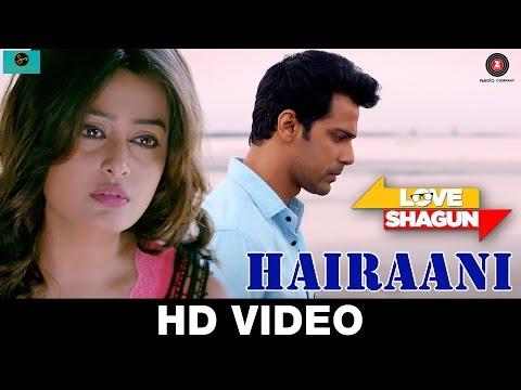 Hairaani | Love Shagun | Arijit Singh, Sakina Khan | Anuj Sachdeva, Nidhi Subbaiah